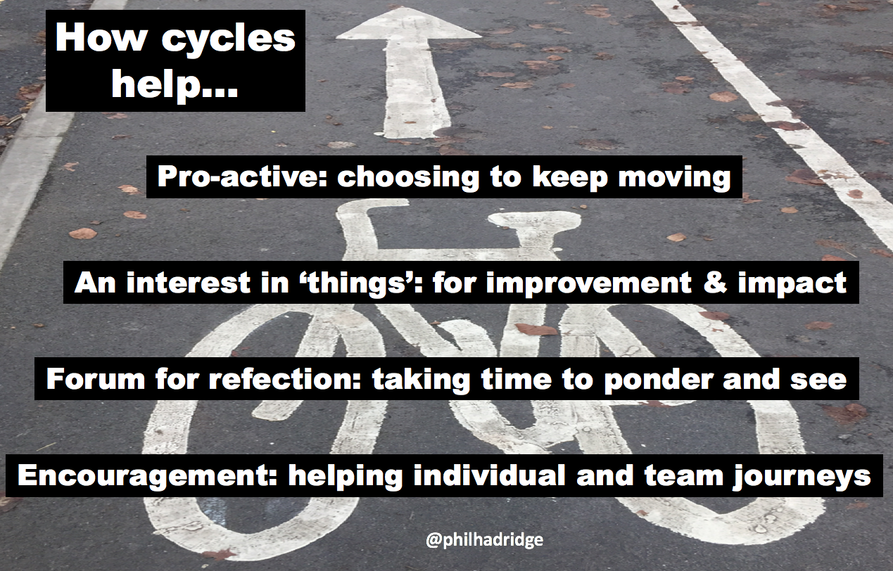 How cycles help